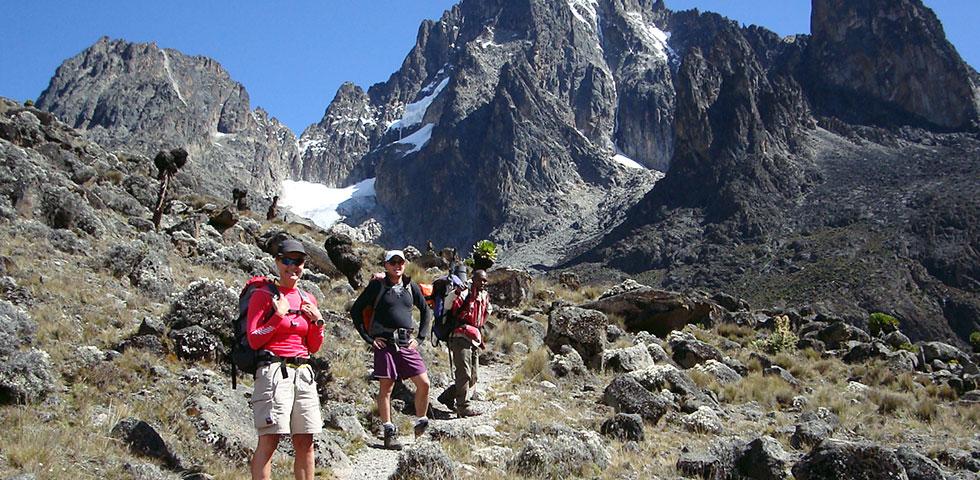 4 Days Mount Kenya Climb Naro Moru – Sirimon Route