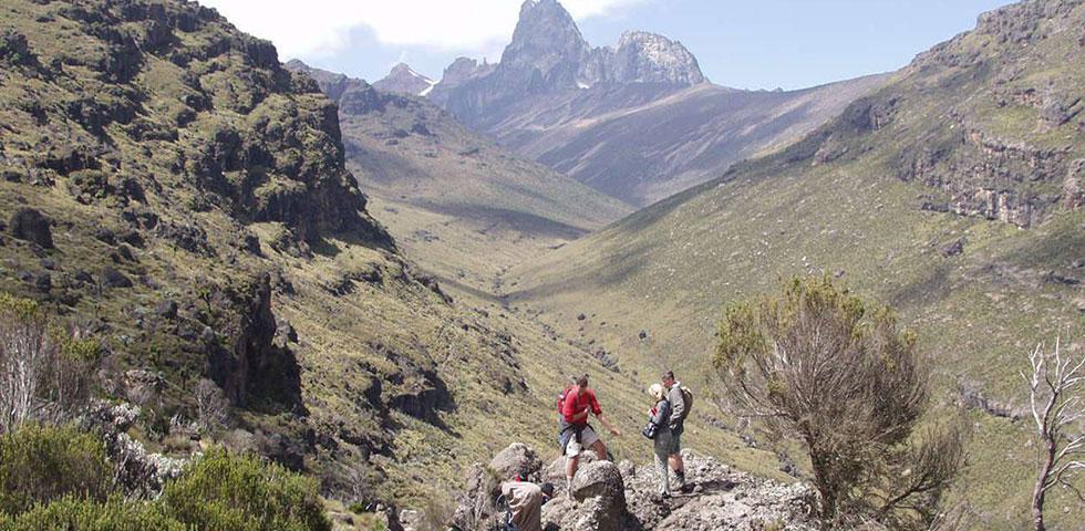 5 Days Mount Kenya Climb Sirimon - Chogoria Traverse
